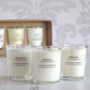Aromatherapy Candles Gift Set - table decorations