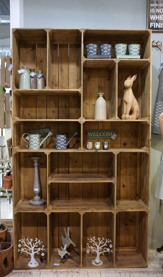 the pallet box box shelf unit by cambrewood