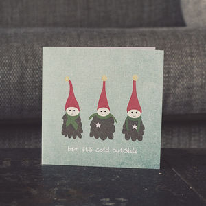 Festive Elf Christmas Cards - cards & wrap