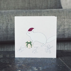 Festive Squirrel Christmas Cards - cards & wrap