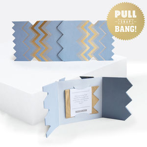 Colour Boutique Grey Christmas Cracker Card - summer sale