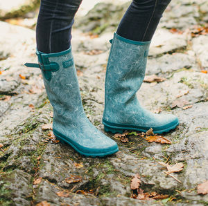 Rule The Waves Wellington Boots - camping accessories