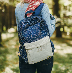 Bird Quilting Back Pack