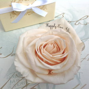 'Happily Ever After' Wedding Rose Gift