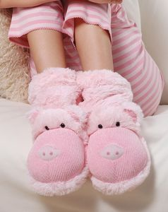 Soft Pig Slippers - children's slippers