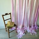 Candy Pinks Wedding Backdrop
