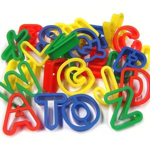 Alphabet Dough Cutters - toys & games