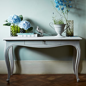 Marie Console Table, Grey Wash