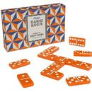 Orange Dominoes With Gift Box