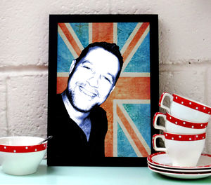 Personalised Union Jack Print - posters & prints