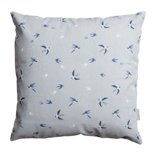 Swallow Cushion 45x45cm - baby's room
