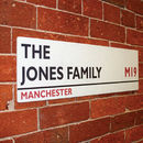 Personalised British Street Sign