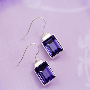 Earrings Made With Swarovski Crystals
