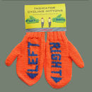 Woolly Indicator Mittens For Cyclists