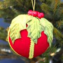 Traditional Holly Tree Decoration