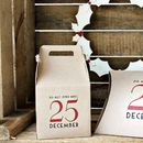 'Do Not Open…'Christmas Gift Box