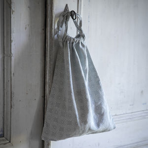 Linen Shoe Bag - storage