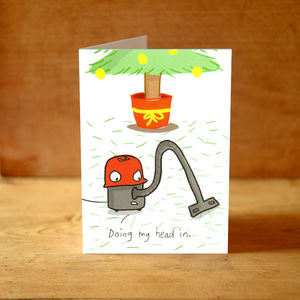 'Henry' Christmas Card - cards
