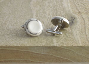 Ceramic Cufflinks - men's accessories