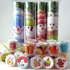 Lots Of Pots Of Sweets Snowmen Advent Calendar - advent calendars