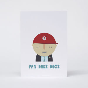 'Fan Dabi Dozi' Card