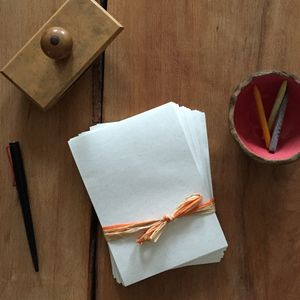 Wheat Straw Paper - notelets & writing paper