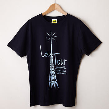 La Tour Navy T Shirt