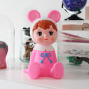 Pink Woodland Doll Money Box