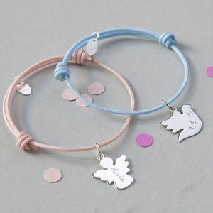 Personalised Christening Bracelet - favourites