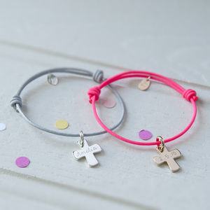 Personalised Christening Charm Bracelet - children's jewellery