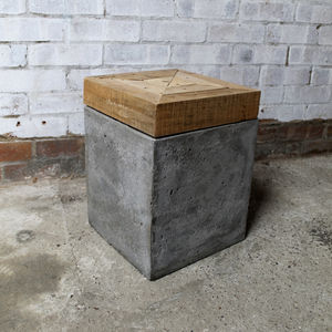 'Timber Topped' Stool