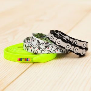 Three Pairs Of Cycling Enthusiast's Shoelaces - gifts for cyclists