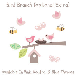 Bird Branch - wall stickers