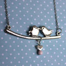 Birdy Love Swing Necklace