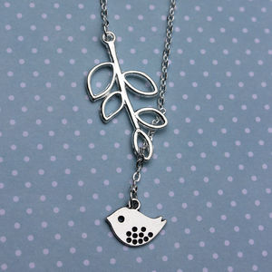 Birdy In The Leaves Necklace - necklaces & pendants