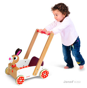 Personalised Wooden Walker - traditional toys & games