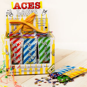 25 Pairs Of Shoelaces Party Box