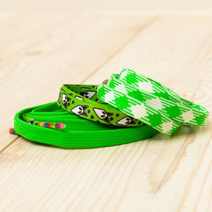 Three Pairs Of Green Shoelaces - women's fashion