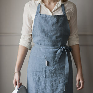 Linen Apron - kitchen accessories