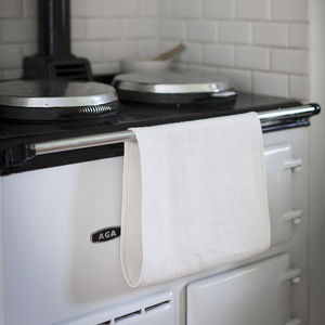 Linen Roller Towel - tea towels