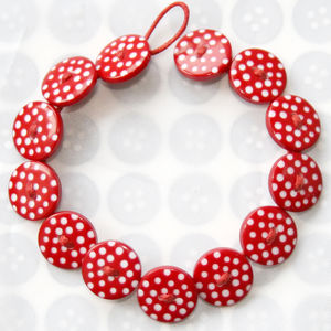 Polka Dot Button Bracelets - women's sale