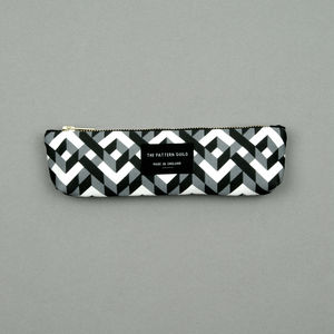 Chains Pattern Pencil Case Small