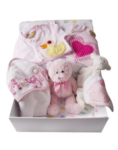 Personalised/Mixed Baby Girl Gift Hamper