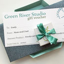Green River Studio Gift Voucher
