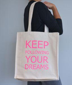 Personalised 'Moto' Tote Bag - bags & purses