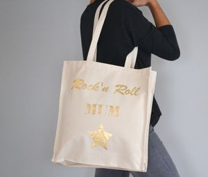 'Rock'n Roll' Tote Bag