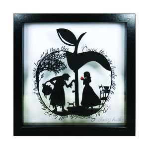 Snow White's Apple Papercut