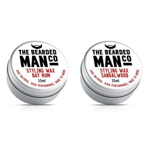 Set Of Two Moustache Wax - gift sets