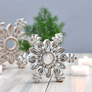 Hand Carved Snowflakes Decoration