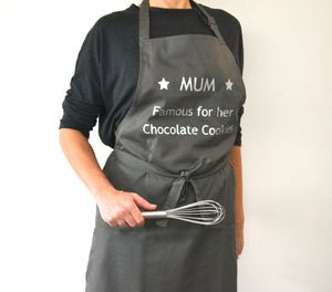 Personalised 'Famous For' Apron